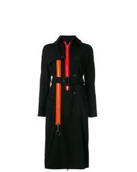 Gabardina negra de Givenchy