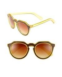Gafas de sol amarillas de A.J. Morgan