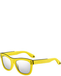Gafas de sol amarillas de Givenchy