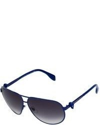 Gafas de sol azul marino de Alexander McQueen