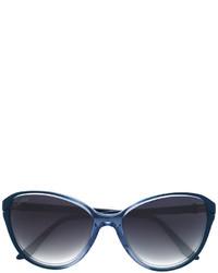 Gafas de sol azul marino de Cartier