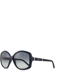Gafas de sol azul marino de Chloé