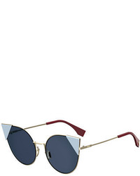 Gafas de sol azul marino de Fendi