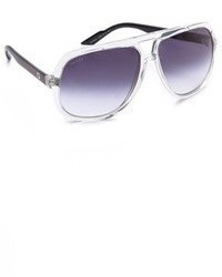 Gafas de sol azul marino de Gucci