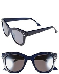 Gafas de sol azul marino de Isaac Mizrahi