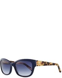 Gafas de sol azul marino de Kate Spade