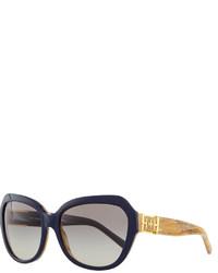 Gafas de sol azul marino de Tory Burch