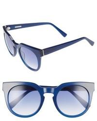 Gafas de sol azules de Derek Lam