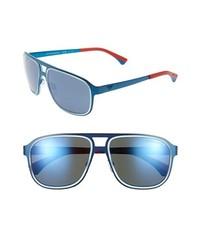 Gafas de sol azules de Emporio Armani
