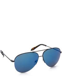 Gafas de sol azules de Victoria Beckham