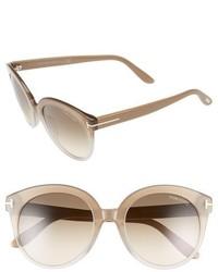 Gafas de Sol Beige de Tom Ford