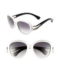 Gafas de sol blancas de Alexander McQueen