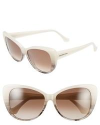 Gafas de sol blancas de Balenciaga