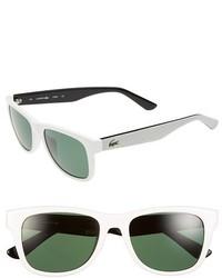 Gafas de sol blancas de Lacoste