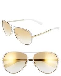 Gafas de sol blancas de Michael Kors