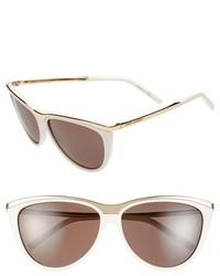 Gafas de sol blancas de Saint Laurent