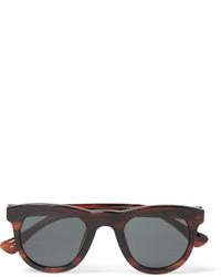 Gafas de sol burdeos de Dries Van Noten