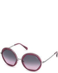 Gafas de sol burdeos de Emilio Pucci