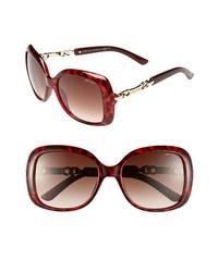 Gafas de sol burdeos de Jimmy Choo