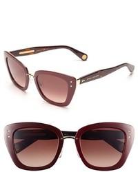 Gafas de sol burdeos de Marc Jacobs
