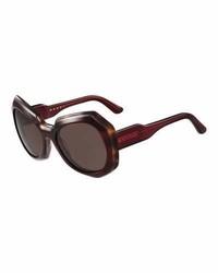 Gafas de sol burdeos de Marni