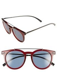 Gafas de sol burdeos de Salvatore Ferragamo