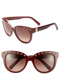 Gafas de sol burdeos de Valentino