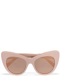 Gafas de sol con adornos rosadas de Stella McCartney