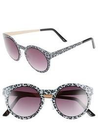Gafas de sol de leopardo grises de Steve Madden