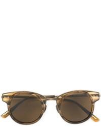 Gafas de sol doradas de Bottega Veneta