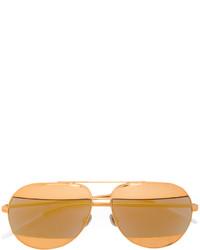 Gafas de sol doradas de Christian Dior