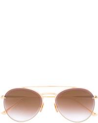 Gafas de sol doradas de Dita Eyewear