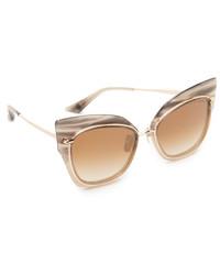 Gafas de sol doradas de Dita