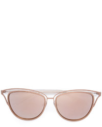 Gafas de sol doradas de Monique Lhuillier