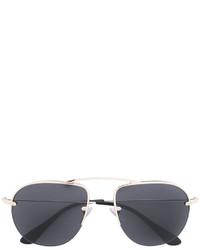 Gafas de Sol Doradas de Prada