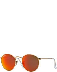 Gafas de sol doradas de Ray-Ban