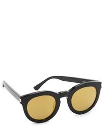 Gafas de sol doradas de Saint Laurent