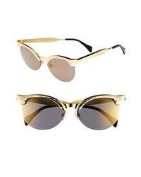 Gafas de sol doradas de Wildfox