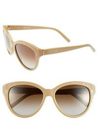 Gafas de sol en beige de Chloé