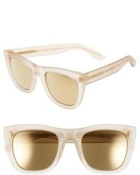 Gafas de sol en beige