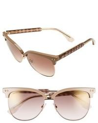 Gafas de sol en beige de Jimmy Choo