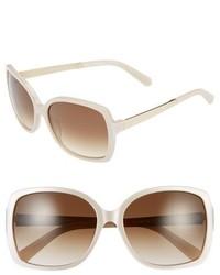 Gafas de sol en beige de Kate Spade