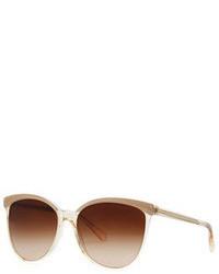 Gafas de sol en beige de Oliver Peoples