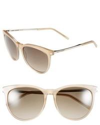 Gafas de sol en beige de Saint Laurent
