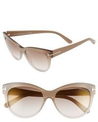 Gafas de sol en beige de Tom Ford