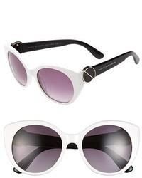 Gafas de sol en blanco y negro de Marc by Marc Jacobs