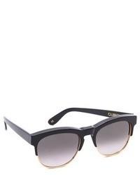 Gafas de sol en gris oscuro de Wildfox Couture