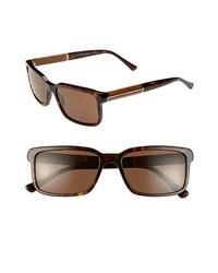 Gafas de sol en marrón oscuro de Burberry