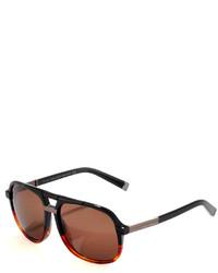 Gafas de sol en marrón oscuro de DSQUARED2