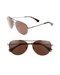 Gafas de sol en marrón oscuro de Emporio Armani